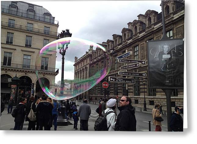 Paris Greeting Card by Tore Solbakken