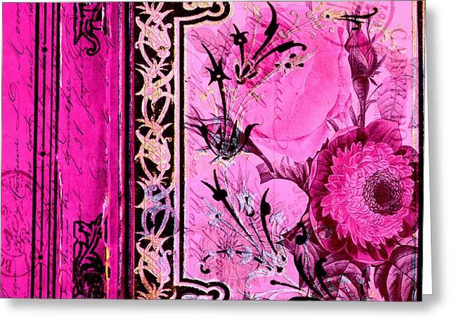 Parisian Memories Greeting Card by Bonnie Bruno