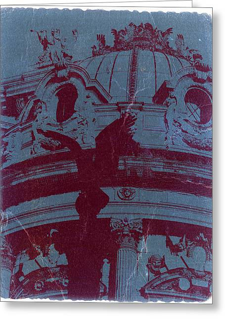 Parisian Opera Greeting Card