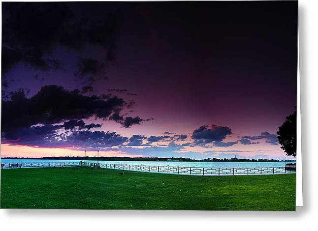 Park Pano Greeting Card by Cale Best
