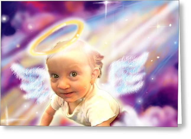 Parkinson.angelic 2 Greeting Card