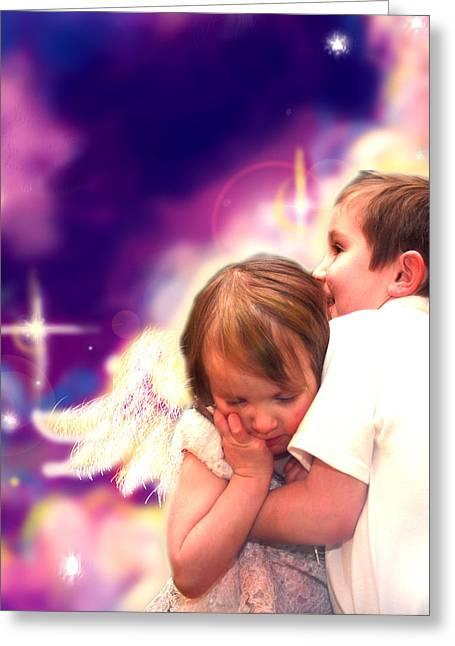 Parkinson.angelic 3 Greeting Card