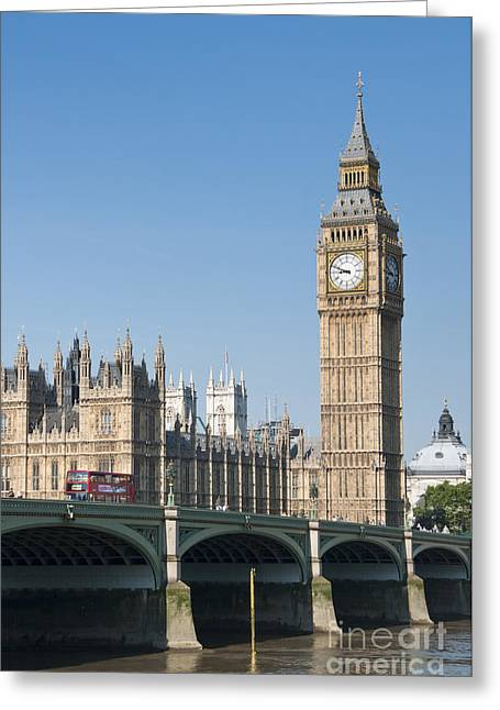 Greeting Card featuring the photograph Parliament by Andrew  Michael