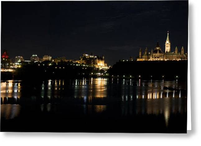 Greeting Card featuring the photograph Parliament Hill Ottawa Canada by JM Photography