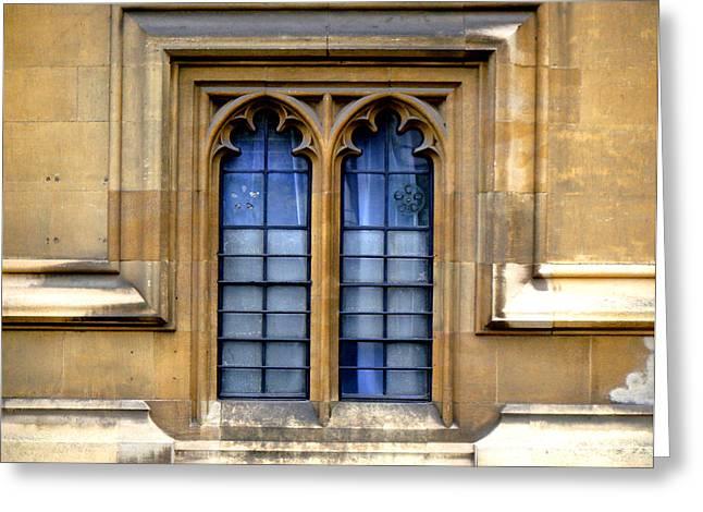 Parliament Window Greeting Card