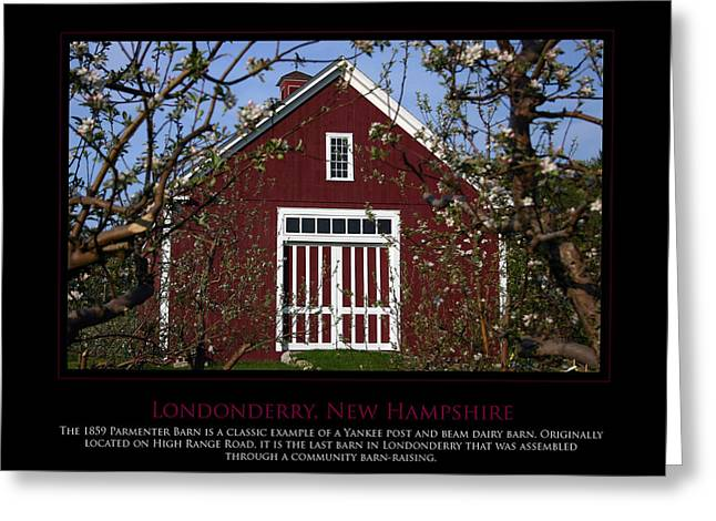 Parmenter Barn Greeting Card by Jim McDonald Photography