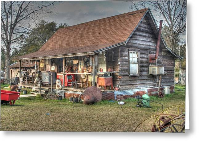 Part House Part Store Greeting Card