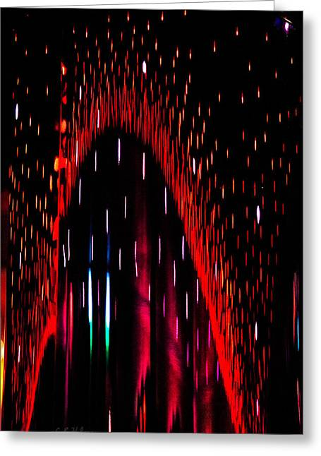Particulated Arch Greeting Card by Christopher Holmes