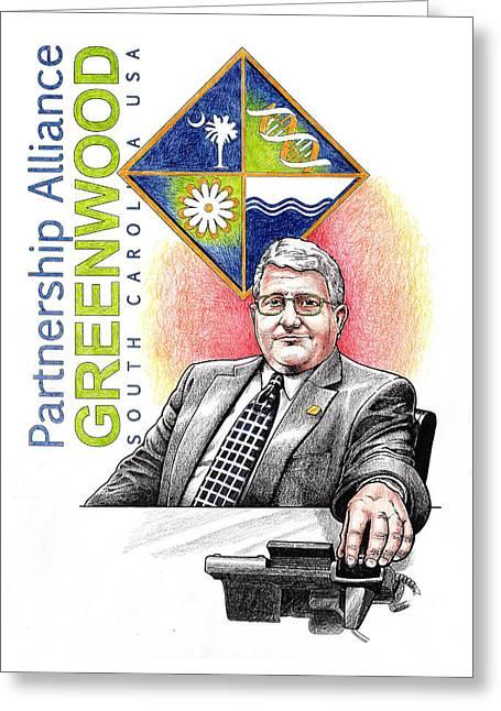 Partnership Alliance Greeting Card by Paul Abrahamsen