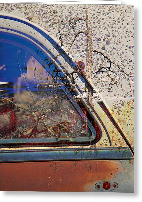 Passenger Side Ride Guild  Greeting Card by Jerry Cordeiro