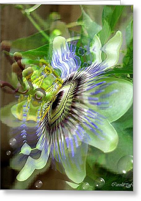 Passion Greeting Card by Carola Ann-Margret Forsberg