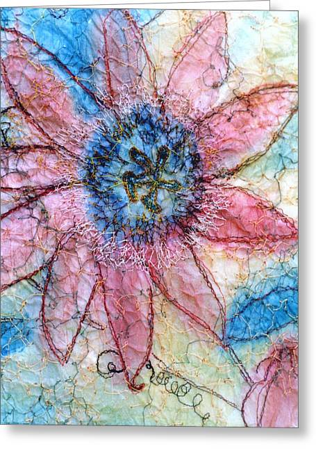 Passion Flower Greeting Card by Anita Bell