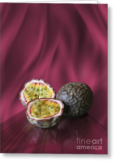 Passion Fruit Greeting Card by Johnny Hildingsson