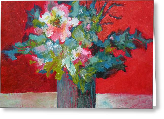 Passion Posy Greeting Card