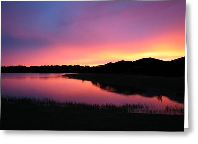 Greeting Card featuring the photograph Pastel Sunset by Bill Lucas