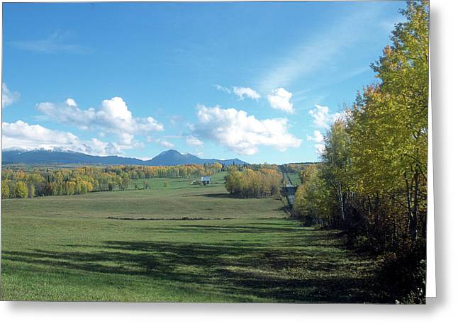 Pastoral Babine Range Panorama Greeting Card