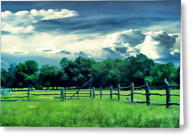 Pastoral Greenery Greeting Card