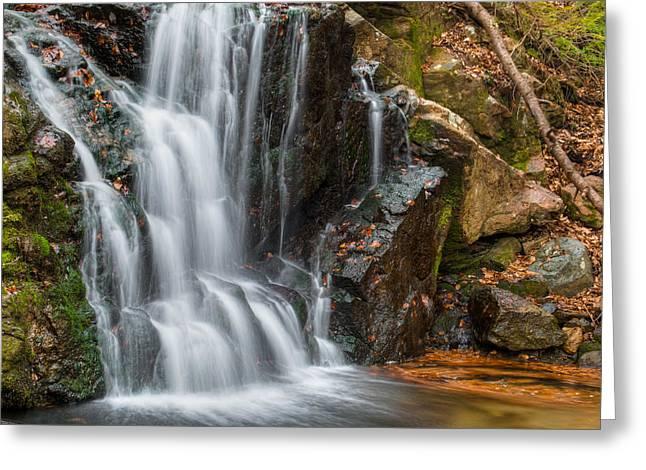 Patapsco Water Falls Greeting Card