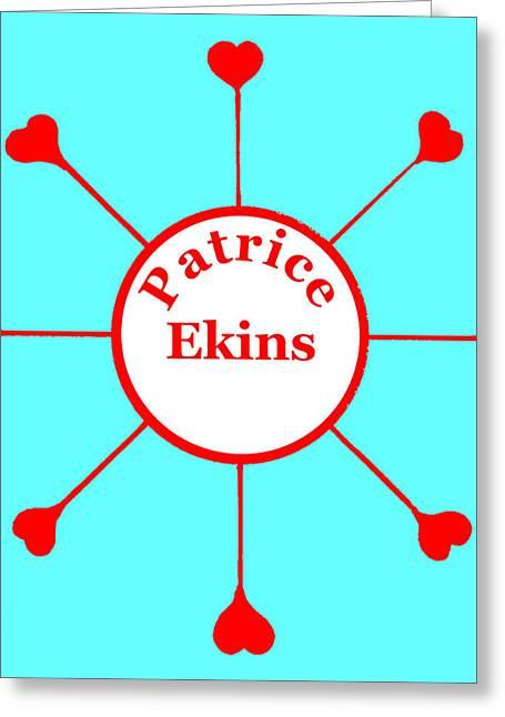 Patrice Ekins Greeting Card