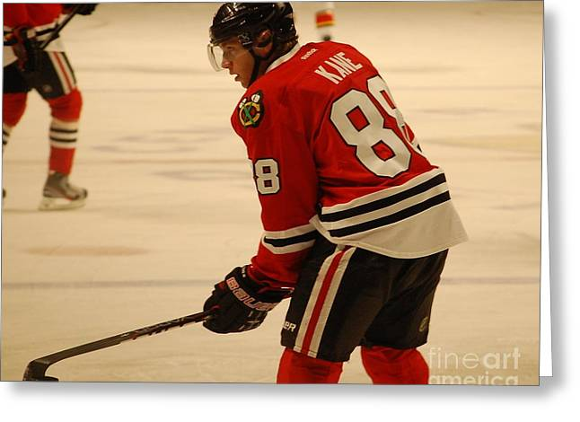 Patrick Kane - Chicago Blackhawks Greeting Card