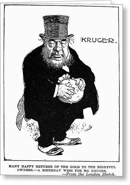 Paul Kruger (1825-1904) Greeting Card