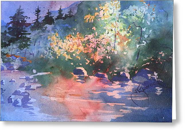 Payson Stream Greeting Card