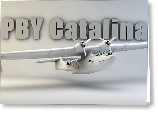 Pby Catalina Greeting Card by Dale Jackson