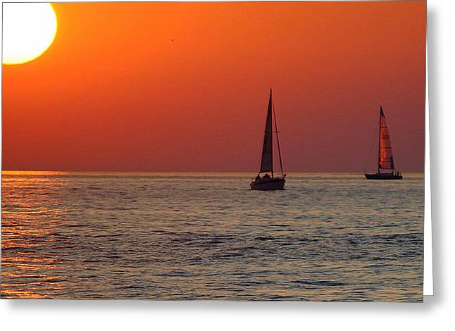 Peace And Tranquility Greeting Card by Frozen in Time Fine Art Photography