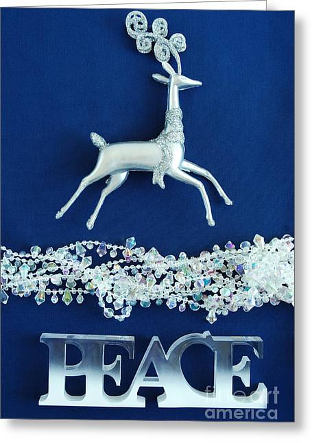 Peace Greeting Card by HD Connelly
