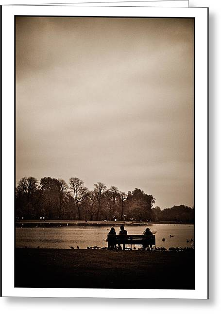 Greeting Card featuring the photograph Peace by Lenny Carter
