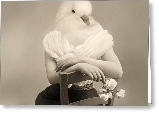Peace Seeker Greeting Card by Mostafa Moftah