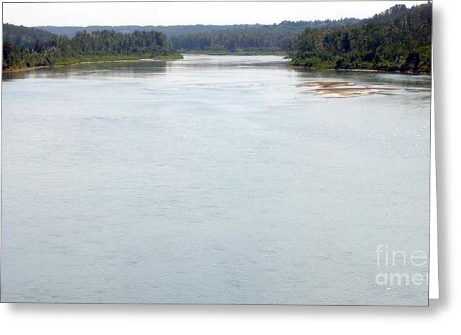 Greeting Card featuring the photograph Peaceful Waters by Jim Sauchyn
