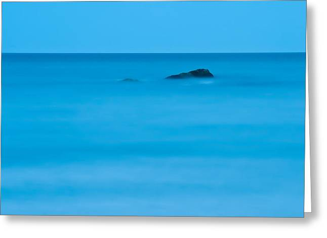 Greeting Card featuring the photograph Peaceful Waters by Nancy De Flon