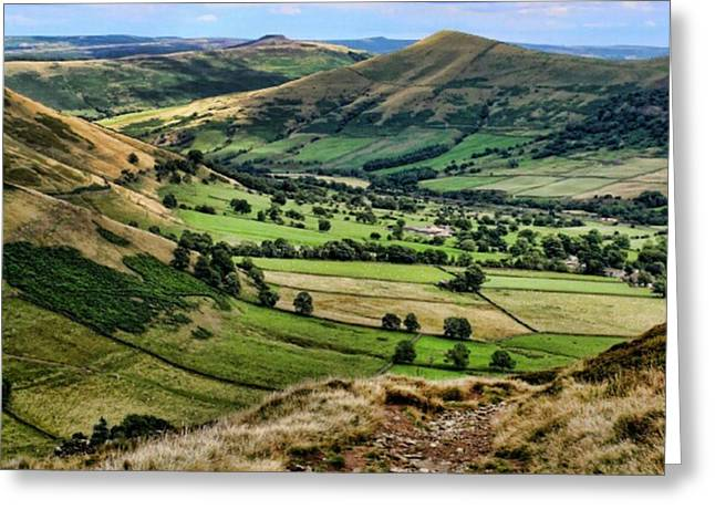 Peak District Greeting Card by Isabella F Abbie Shores