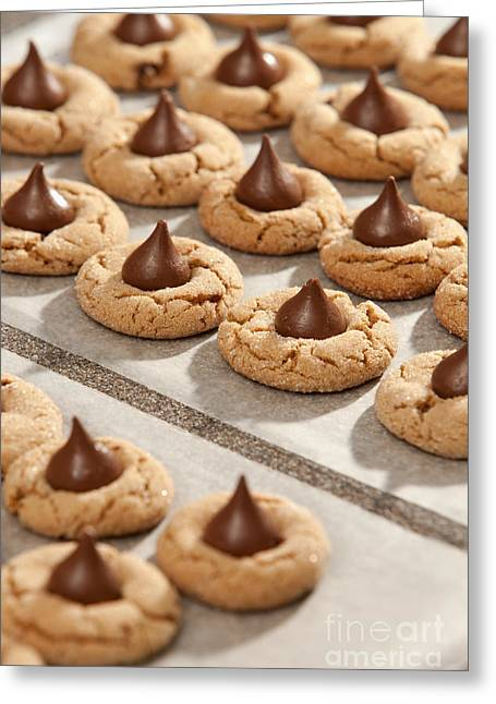 Peanut Blossom Cookies Greeting Card by Will & Deni McIntyre