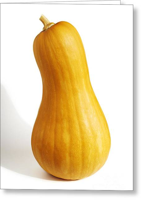 Pear Pumpkin Greeting Card by Carlos Caetano