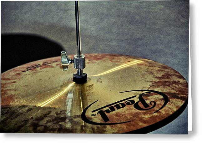 Pearl Hi Hat Greeting Card by Odd Jeppesen