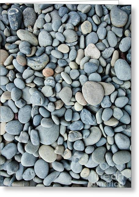 Pebbles Greeting Card by John Buxton