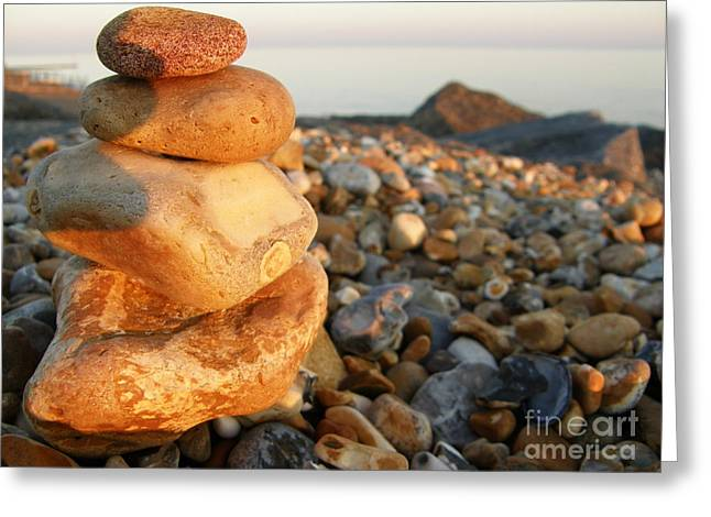 Pebbles Greeting Card by Spice