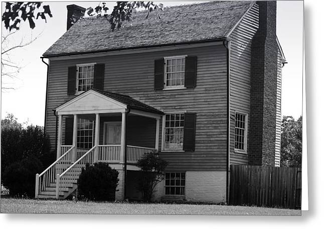 Peers House Appomattox County Court House Virginia Greeting Card by Teresa Mucha