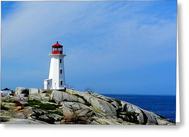 Peggy's Cove Lighthouse Greeting Card