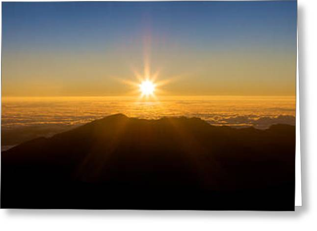 Greeting Card featuring the photograph Perfect Sunrise by JM Photography