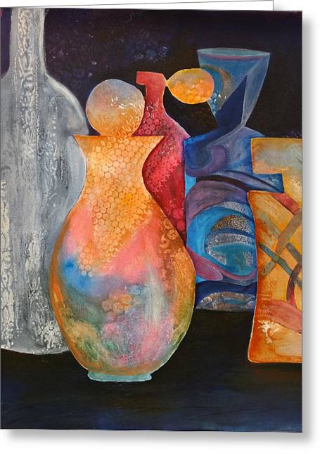 Perfume Bottles 1 Greeting Card
