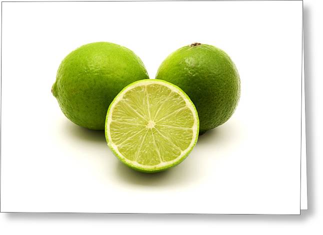 Persian Lime Greeting Card by Fabrizio Troiani