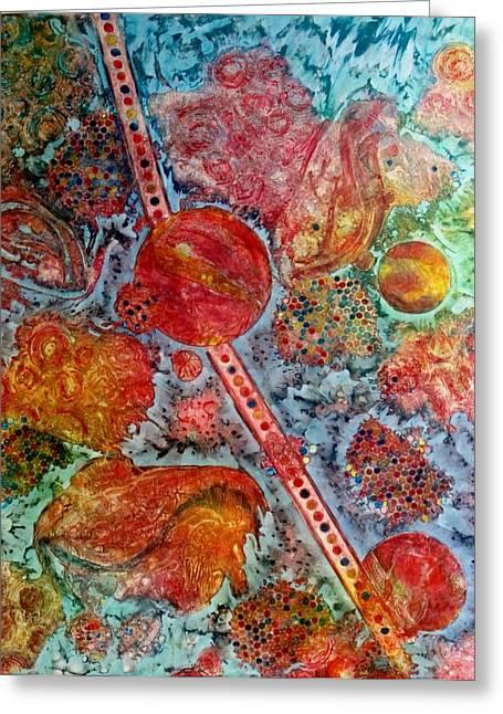 Persian Treasures Greeting Card by David Raderstorf