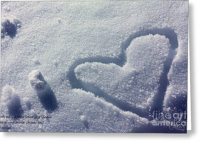 Perso Shanow Greeting Card by Cazyk Photography