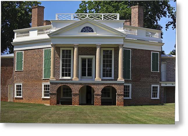 Personal Villa Retreat Of Thomas Jefferson Greeting Card