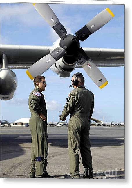 Personnel Conduct A Pre-flight Briefing Greeting Card