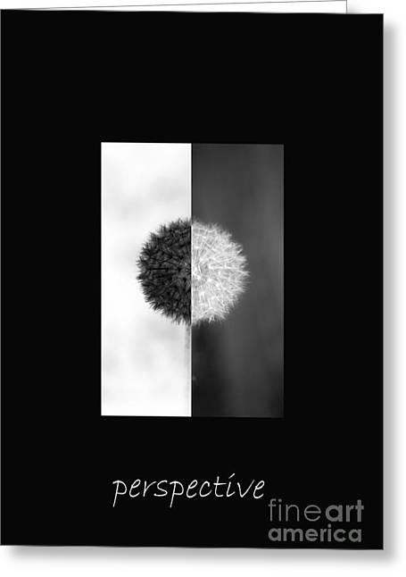 Perspective Greeting Card by Karen Lewis