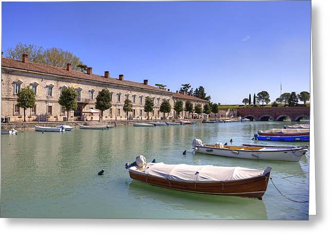 Peschiera Del Garda Greeting Card by Joana Kruse